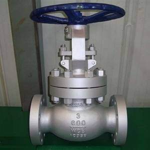 Wholesale china globe valve manufacturer: Cast Steel Globe Valve, Class 600 LB, A216 WCB, BS 1873