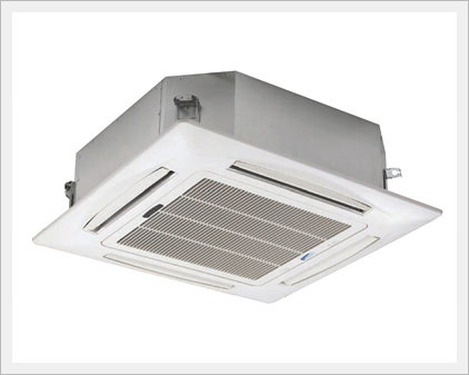 Fan Coil Unit 4 Way Ceiling Cassette Type Air