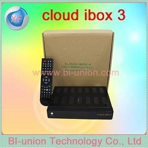 Wholesale Satellite TV Receiver: Cheapest Price HD  Digital Cloud Ibox 3 for 3 PIN UK  Plugs