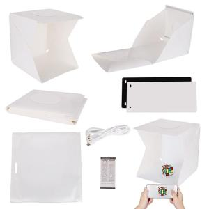 Wholesale Other Camera Accessories: 40cm 16inch Mini Photo Studio Photography Light Tent Backdrop Cube Soft Box LED Light Room CE ROHS
