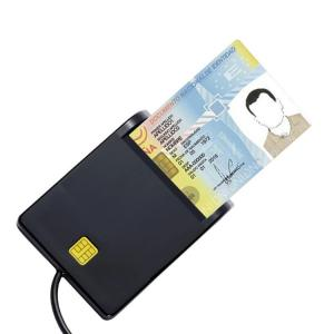 Wholesale chip card: DOD Military Easy Comm EMV USB Smart Card Reader CAC Common Access ATM Chip Card Reader