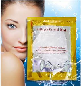 Wholesale moisture essence: Collagen Crystal Facial Mask Cosmetics Collagen Essence Face Mask Skin Moisturize Facial Care