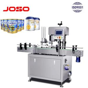 Wholesale powder metals: Milk Powder Aluminium Metal Tin Cans Sealing Machine Seaming Automatic Rotary Model