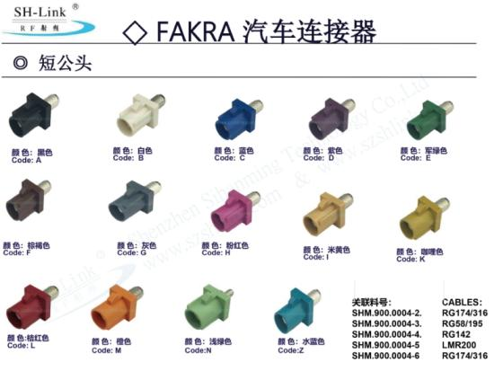 Sell Short Fakra RF Connector
