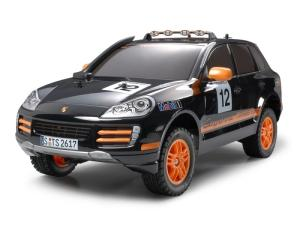 Wholesale off road snorkel: Tamiya 1/10 Cayenne S Transsyberia 2007 Kit TAM58406