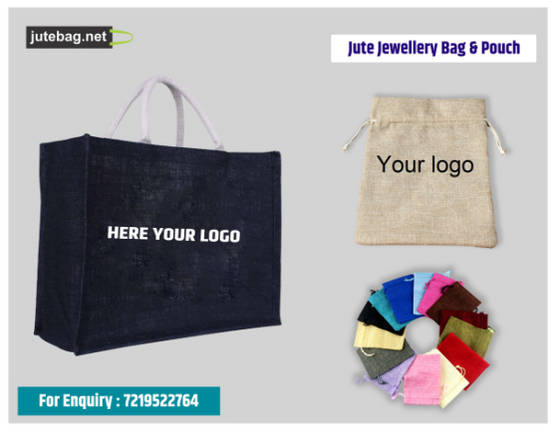 Sell Jute Jewelery Bag and Pouches