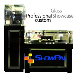 Wholesale custom cake box: Glass Display Cabinet,Showcase Customized