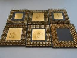 Wholesale chip: Pentium Pro Gold Ceramic CPU Scrap High Grade CPU Scrap, Computers Cpus / Processors/ Chips Gold Rec