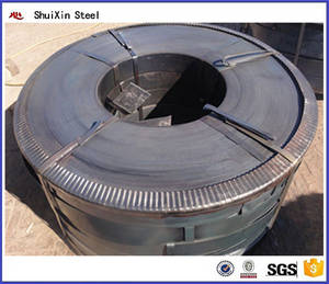 Wholesale spcc galvanized steel coil: GB Black Construction Q235 Hot Rolled Steel Strips