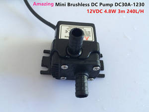 Wholesale aquarium air pump: Mini Low Noise Brushless DC Pump DC30A-1230 12VDC 4.5W Stable Work