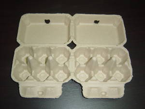 Wholesale Paper Cups: Paper Pulp Molded Egg Cartons 6x2