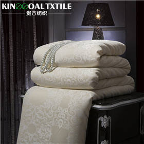 Wholesale silk comforter: Silk-Filled Comforter with Silk Cover King Size Silk Quilts
