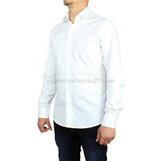 Men's Shirt Slim Fit 100% Cotton High Quality Made in Italy
