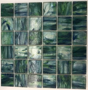 Wholesale swimming pool mosaics: Clear Glass Mosaics for Swimming Pool