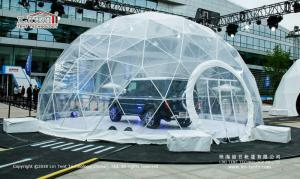 Wholesale Trade Show Tent: Transparent PVC Cover Geodesic Dome Tents for Wedding / Party 100 - 10000 People