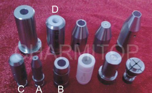 Sell edm pipe guide ceramic guide for small hole edm drilling machine