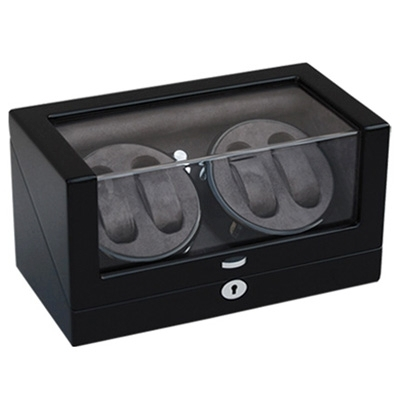 New Style Luxury Lacquered Wood Watch Winder with Silent Japanese Motor