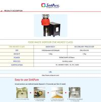 Sink Pure(Food Waste Disposer)_the Highest Class