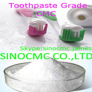 Wholesale Other Chemicals: Toothpaste Grade CMC