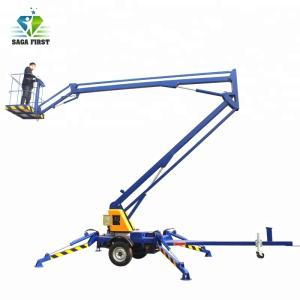Wholesale trailer mounted boom lift: Electric Hydraulic Towable Spider Trailer Mounted Boom Lift