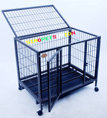 heavy duty dog kennel metal dog cage image