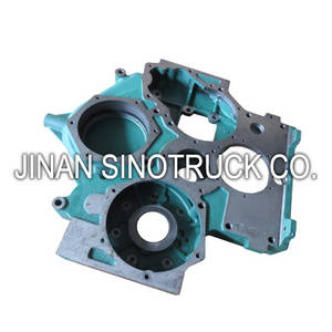 Wholesale trucks spare parts: Sinotruk Howo Truck Engien Spare Parts Gear Chamber 61557010008