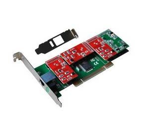 Wholesale voip hardware: 4 Ports Asterisk Analog PCI Card