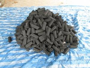 Wholesale coconut shell charcoal briquette: Charcoal Briquettes From Coconut Shells