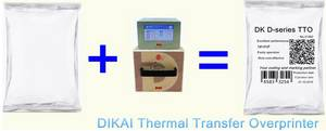 Wholesale batch number printing coder: Thermal Transfer Overprinter DK D05 TTO