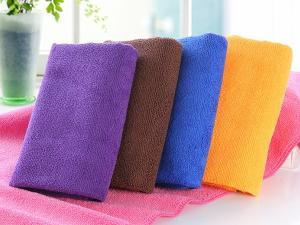Wholesale warp knitting: 80% Polyester and 20% Polyamide Warp Knitted Towels Gym Towel