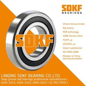 Wholesale door open light box: SDKF 6305-2RS-ZZ Metal Shielded Seal Deep Groove Ball Bearing 25x62x17mm