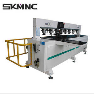 Wholesale woodworking cnc router: Skmnc CNC Router Woodworking Side Drilling Milling Machine