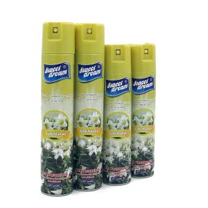 Wholesale smell: 2018 Sweet Dream 400Ml Long Smelling Lemon Air Freshener Spray