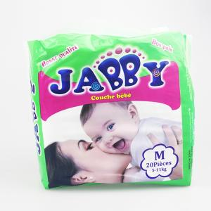 Wholesale baby disposable diapers: JABBY Brand Baby Diapers China Disposable Baby Diapers Manufacturers for Sleeping