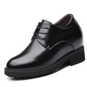 Wholesale healthy shoes: Ultrahigh Elevator Leather Shoes Height Increased 12 Cm