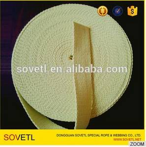 Wholesale Webbing: Puro Kevlar (100%) Flat Wick 3mm Thick High Quality Wick Used in Almost All Fire Tools Applications
