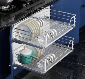 Wholesale drawer basket: Staineless Steel Kitchen Cabinet Drawer Basket