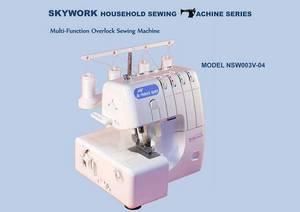 Wholesale household overlock sewing machine: Household Sewing Machine-Overlock Machine