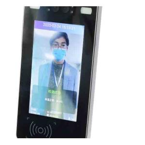 Wholesale Facial Recognition System: Binocular Face Recognition Attendance Access System Machine with IR Temperature 5/7/10 Inch