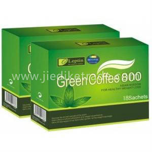 Wholesale artificial green plants sale: Natural Green Coffee 800 Leptin Slimming Coffee