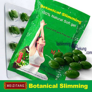Wholesale meizitang botanical slimming: 100% New Package for Original Meizitang Slimming Soft Gel