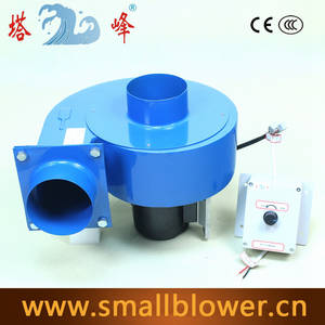 Wholesale industrial dc motor: 550w DC Motor 48v High Pressure Centrifugal Fan Blower Industrial Smoke Dust Exhauster