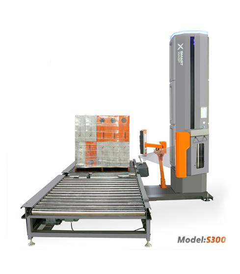 Sell S300 Model Inline Fully Automatic Pallet Wrapping Machine