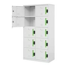 Wholesale Lockers: High Quality Portable Door Locker Metal Storage 10 Door Locker