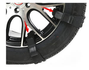 Wholesale super safes: Silent Spike Snow Tire Chain 2018
