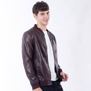 Wholesale leather jackets: 3 Colors Men Leather Jacket