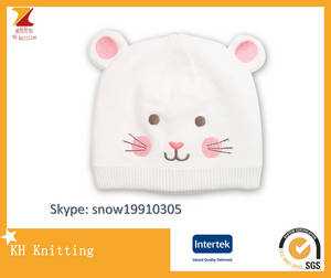 Wholesale cotton candy: Cute Candy Color Kids Knitted Cotton Hat,Beanie Hat