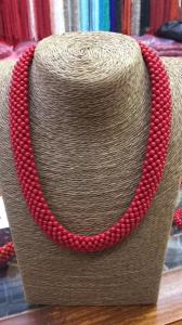 Wholesale red coral necklace: Natural Coral Necklace