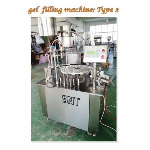 Wholesale plastic bottle cap: Automatic Medical Gel Filling Capping Machine with Professional Technical Support