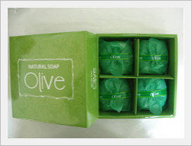 Wholesale olive soap: Olive Soap 4p